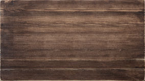Dark wood texture. Wooden texture, dark brown wood board Stock Images