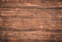 Dark wooden background Stock Photography