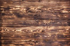 Dark wooden background, rustic wood texture Royalty Free Stock Images