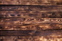 Dark wooden background, rustic wood Stock Image
