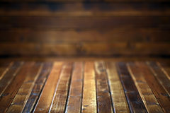 Dark wooden background. Or  texture Royalty Free Stock Photography