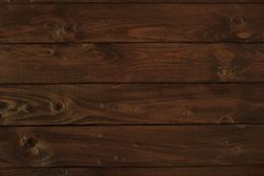 Dark wooden board for background or texture Stock Photography