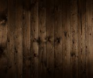 Dark wooden board for background or texture Stock Photos