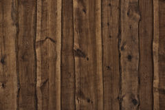 Dark Wooden Boards As Background Stock Photos
