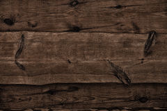 Dark wooden boards as background Royalty Free Stock Photos