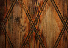 Dark wooden door with pattern texture. Dark brown wooden door with pattern, door in the cyprus village. texture vector illustration