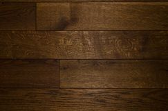 Dark wooden floor Royalty Free Stock Photo