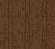 Dark wooden floor may used as background. Stock Photos