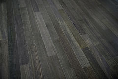 Dark wooden floor Royalty Free Stock Photography