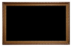 Dark wooden frame Royalty Free Stock Images