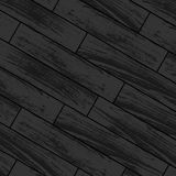 Dark wooden laminate. Dark gray wooden laminate and parquet background Stock Photography