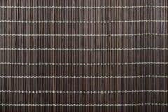 Dark wooden mat Stock Image