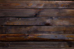 Dark wooden planks background. Horizontal with space for text Royalty Free Stock Photography