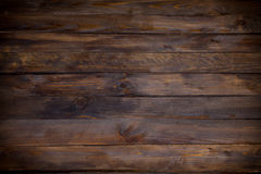 Dark wooden planks background horizontal with space Royalty Free Stock Images