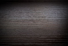 Dark wooden surface with gradient Royalty Free Stock Photos