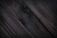 Dark wooden texture. Background brown old wood planks. Royalty Free Stock Image