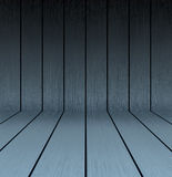 Dark wooden texture floor and wall Stock Image