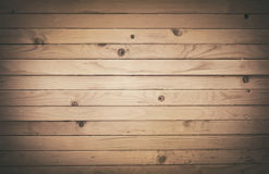Dark wooden texture with horizontal planks. Vector Royalty Free Stock Photos