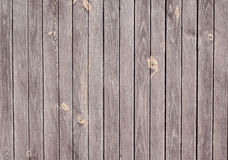 Dark wooden texture with vertical planks floor, table, wall surface. Royalty Free Stock Photography