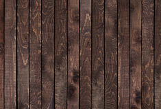 Dark wooden texture. Vintage wood texture. Stock Photography