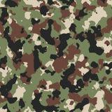 Dark woodland seamless camo pattern Royalty Free Stock Images