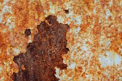 Dark worn rusty metal texture background. Rust texture on metal sheet abstrack background concept. old metal iron rust background