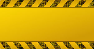Dark yellow construction background Royalty Free Stock Images