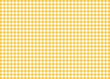 Dark Yellow Gingham Pattern Background Royalty Free Stock Photos