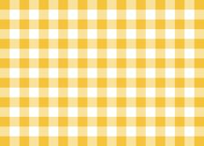 Dark Yellow Gingham Pattern Background Stock Image