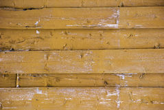 Dark Yellow Wooden Background With Copy Space Stock Images