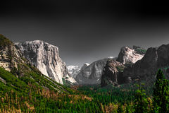 Dark Yosemite Royalty Free Stock Photo