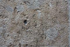Darkbrown betonowa ściana z few narysy obraz royalty free