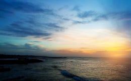 Darken Sunset view stock photos