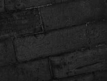 Darkgray каменная стена Стоковое фото RF