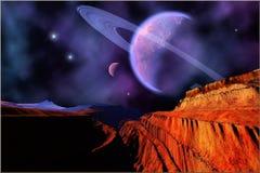 Darklight Nebula Royalty Free Stock Image