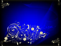 Darkly dark blue Royalty Free Stock Photography