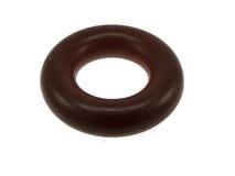 Darkly red elastomeric ring Royalty Free Stock Photo