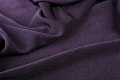 Darkly violet fabric Royalty Free Stock Image