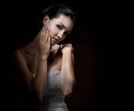 In the darkness Royalty Free Stock Photography