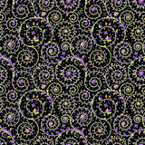 Darkness Seamless Pattern. Black Backgrounds Royalty Free Stock Photography