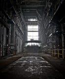 Darkside der Industrie Stockbild