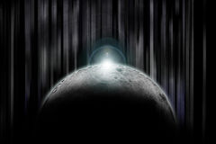 darkside księżyc zdjęcie royalty free