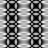 darksilver för 2 cirklar Royaltyfria Bilder