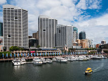 Darling Harbor during the day Stock Images