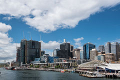 Darling Harbor during the day Stock Image