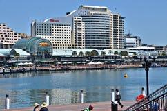 Darling Harbor, Sydney Photos libres de droits