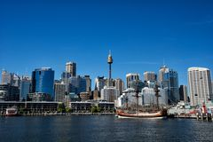Darling Harbour Stock Afbeeldingen