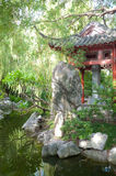 Darling Harbour Chinese Garden in Sydney, Australia. Stock Image
