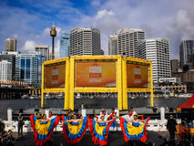 Darling harbour fiesta festival Stock Photos