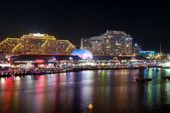 Darling Harbour night scene Royalty Free Stock Photography